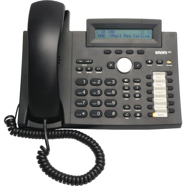 Como Instalar un firmware para Lync en Teléfonos SNOM