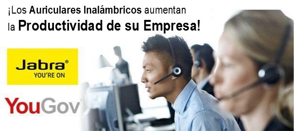 Los auriculares inalámbricos permiten aumentar la productividad
