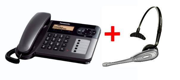 Como emparejar un Auricular a su Panasonic KX-TG6451.