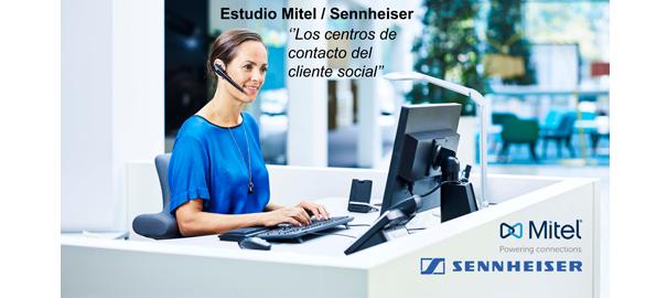 El estudio Mitel / Sennheiser sobre Contact Centers