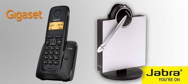 Cómo emparejar Jabra GN9120 DG con un teléfono inalámbrico Gigaset