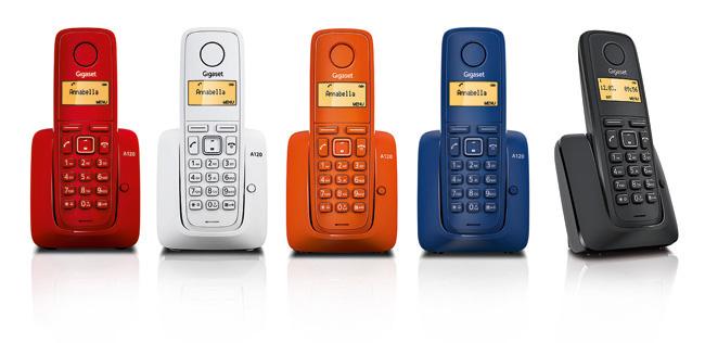 Teléfonos Inalámbricos Gigaset A120: buenos, bonitos y baratos