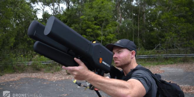 DroneGun ¡La primera pistola Anti-Drones!
