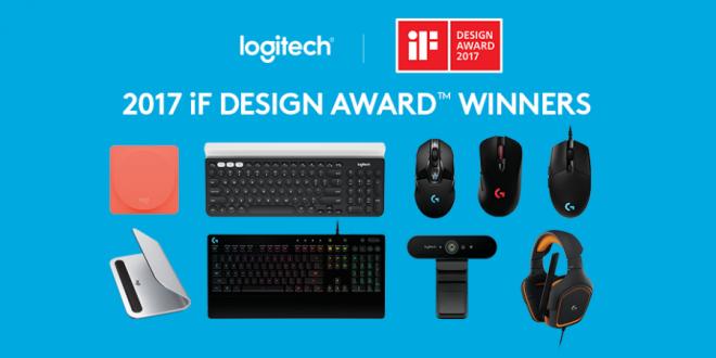 Logitech bate récord y consigue 9 IF DESIGN AWARDS DE 2017.