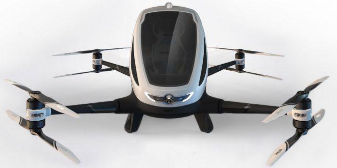 Ehang 184, El primer dron para pasajeros del mundo