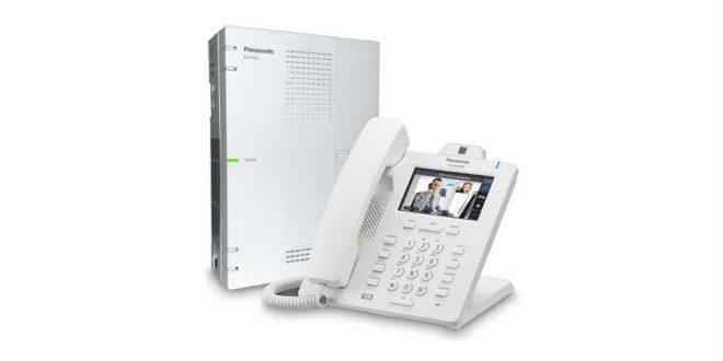 Comunicación completa con la Centralita Panasonic KX-HTS32.