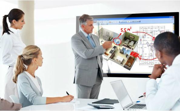 pantallas táctiles interactivas
