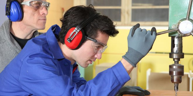 Protección auditiva en el trabajo