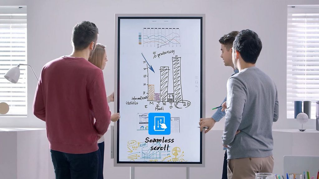 Pantalla interactiva Samsung