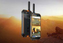 Dispositivo con función walkie talkie