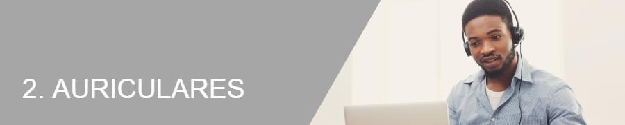 2. Auriculares para facilitar el teletrabajo