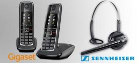Cómo emparejar Sennheiser DW GAP con un teléfono inalámbrico Gigaset
