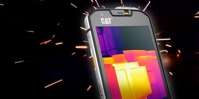 CAT S60, el primer Smartphone robusto con cámara térmica