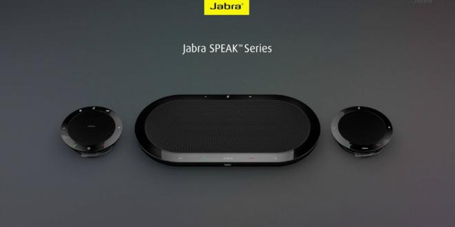 Conferencias más sencillas con la serie de altavoces Jabra Speak
